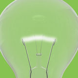 Green lightbulb Stock Photos