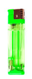 Green lighter Royalty Free Stock Images