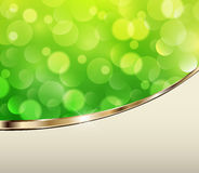 Green lights background Royalty Free Stock Photography