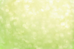 Green lime bokeh Royalty Free Stock Images