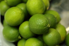 Green lime. Close up of Green lime stock images