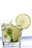 Green lime mohito Stock Image