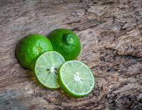 Green lime repels ants and cockroaches Royalty Free Stock Photo