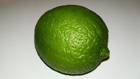 Green Lime. On white background, fruit, green, one, single stock images