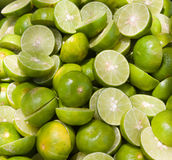 Green limes Stock Images