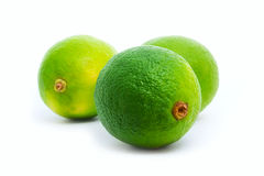 Green limes Royalty Free Stock Photos