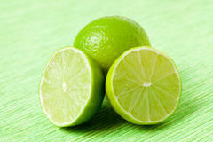 Green limes Stock Photography