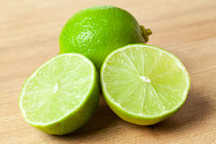 Green limes royalty free stock photography