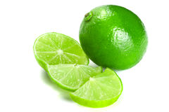 Green limes Royalty Free Stock Image