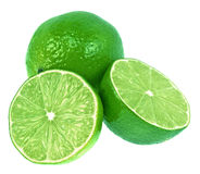 Green Limes Stock Image