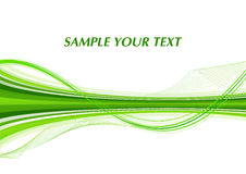 Green line Royalty Free Stock Image