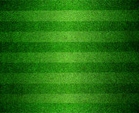 Green lined football field stock images