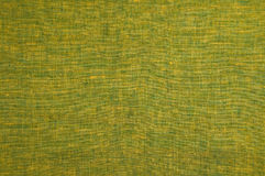 Green linen. As a background Stock Image