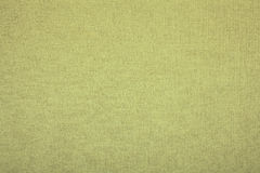 Green linen canvas as a great texture Royalty Free Stock Photos