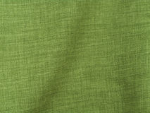 Green Linen Fabric Stock Photography