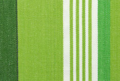 Green linen fabric texture. Green linen striped fabric texture background Stock Image