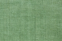 Green linen texture for the background Royalty Free Stock Photo