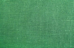 Green linen texture background Stock Photos