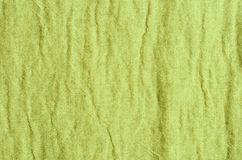 Green linen texture background Stock Photography