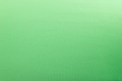 Green linen texture fabrics, waffle structure. Texture of green cotton fabric as abstract background Royalty Free Stock Image