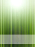 Green lines. Green dynamic lines with light effects. Illustration royalty free illustration