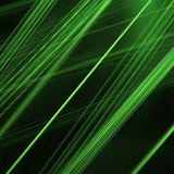 Green Lines Royalty Free Stock Image