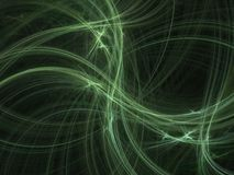 Green lines abstract texture Stock Image
