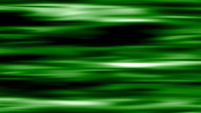 Green lines moving