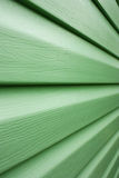 Green lines in perspective Royalty Free Stock Photos