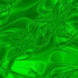 Green Liquid Abstract Stock Images