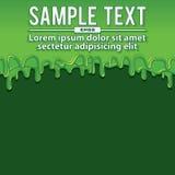 Green Liquid Banners. Vector Illustration Stock Photo