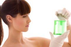 Green liquid Stock Image