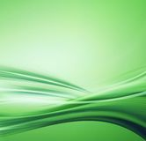 Green liquid illustration Stock Photography