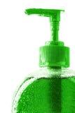 Green liquid soap Royalty Free Stock Image
