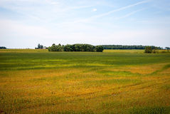 Green lithuanian countryside Royalty Free Stock Photography