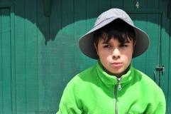 Green Little Brain Royalty Free Stock Image
