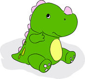 Green little dragon Stock Photo
