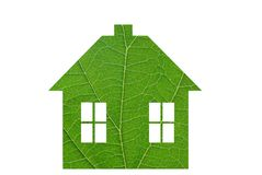 Green little house Stock Photography