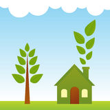 Green Living Royalty Free Stock Image