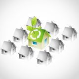 Green Living Stock Images