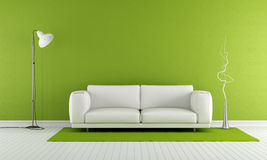 Green living room Royalty Free Stock Image