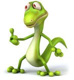 Green lizard Stock Photos