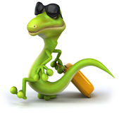 Green lizard Royalty Free Stock Photos