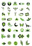 Green logo Stock Images