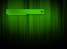 Green logo background stock image