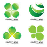 Green logo2 Royalty Free Stock Photos