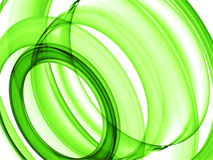 Green loops royalty free stock photography