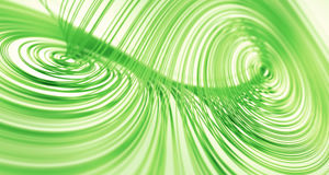 Free Green Lorenz Attractor Royalty Free Stock Photography - 9299967