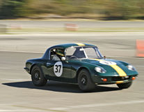 Green Lotus Racecar Stock Image