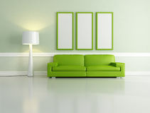 Green lounge Royalty Free Stock Photos